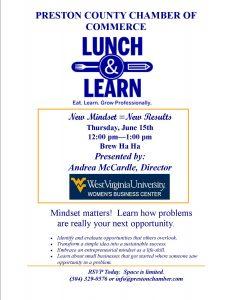 Lunch and Learn @ Brew Ha Ha | Kingwood | West Virginia | United States