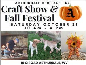 Craft Show and Fall Festival-Arthurdale Heritage @ Arthurdale Heritage