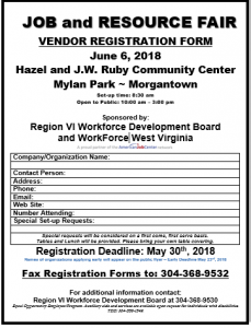 Job and Resource Fair @ Mylan Park | Morgantown | West Virginia | United States