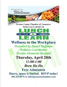"Lunch and Learn ""Wellness in the Workplace"