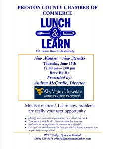 Lunch and Learn @ Brew Ha Ha | Kingwood | West Virginia | United States