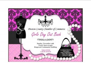Girls Day Out Bash @ Kingwood Community Building | Kingwood | West Virginia | United States