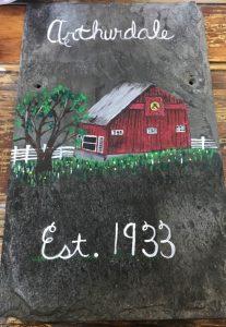 Slate Paint & Sip @ Arthurdale Heritage